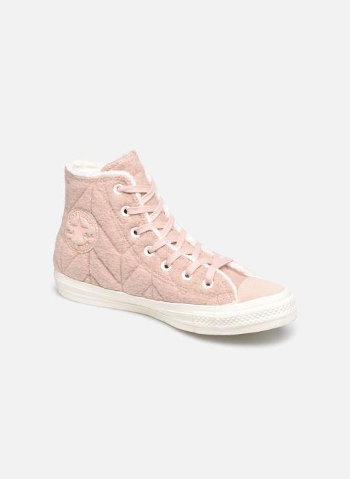 01eedd0d81d Converse Chuck Taylor All Star Wool Hi (Roze) - Sneakers chez ...