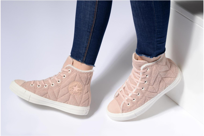 Sneakers Converse Chuck Taylor All Star Wool Hi Grijs onder