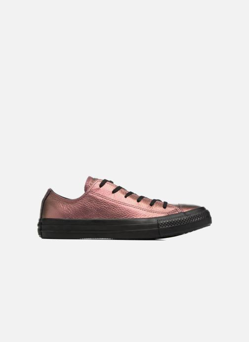 Baskets Converse Chuck Taylor All Star Iridescent Leather Ox Rose vue derrière
