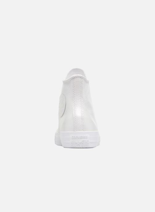 d80567307f2d2a Trainers Converse Chuck Taylor All Star Iridescent Leather Hi White view  from the right