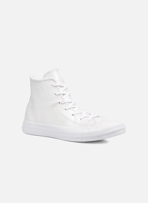 6316a1f966a Converse Chuck Taylor All Star Iridescent Leather Hi (White ...