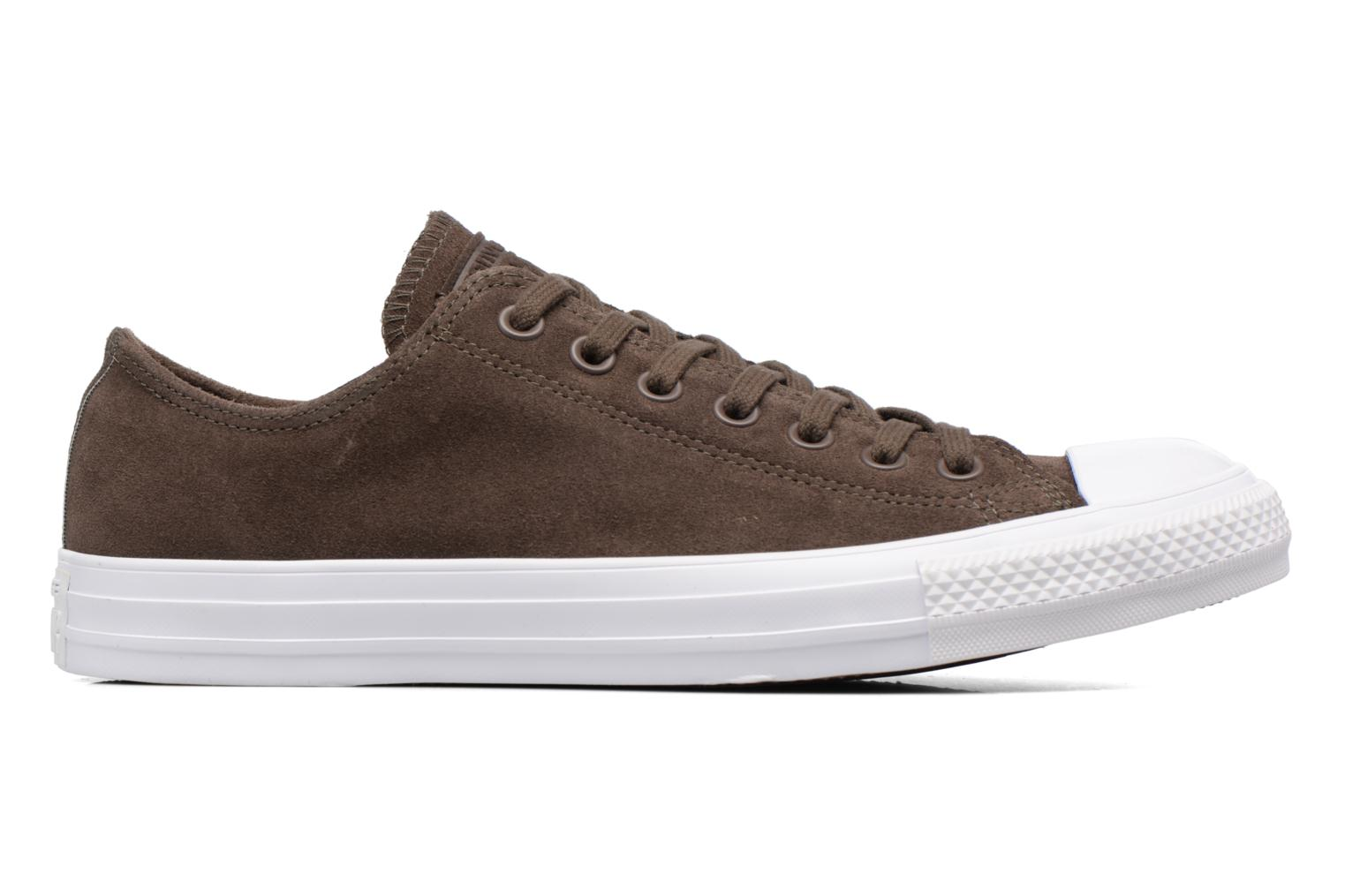 Baskets Converse Chuck Taylor All Star Plush Suede Ox Marron vue derrière