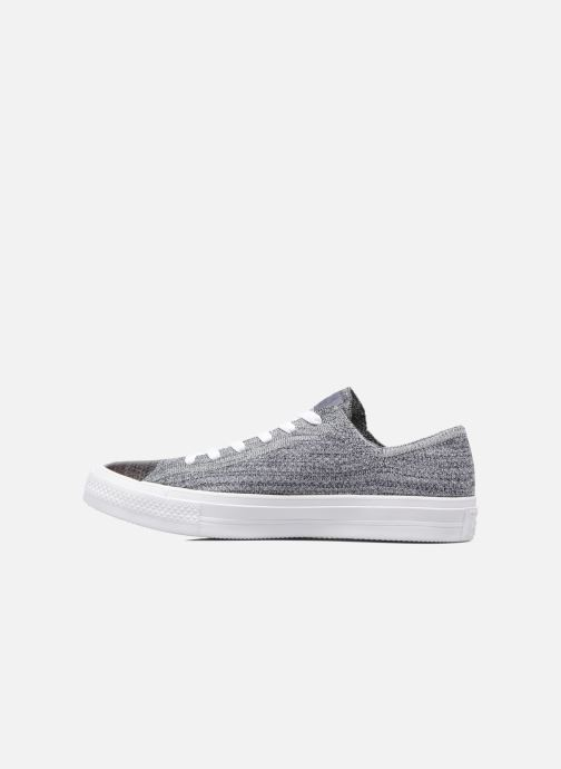 Baskets Converse Chuck Taylor All Star Ox Flyknit Multi Gris vue face