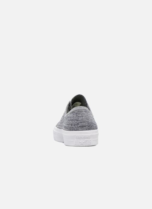 Baskets Converse Chuck Taylor All Star Ox Flyknit Multi Gris vue droite