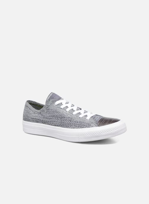 Baskets Converse Chuck Taylor All Star Ox Flyknit Multi Gris vue détail/paire