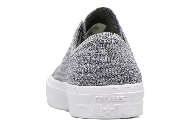 Sneakers Converse Chuck Taylor All Star Ox Flyknit Multi Grijs rechts