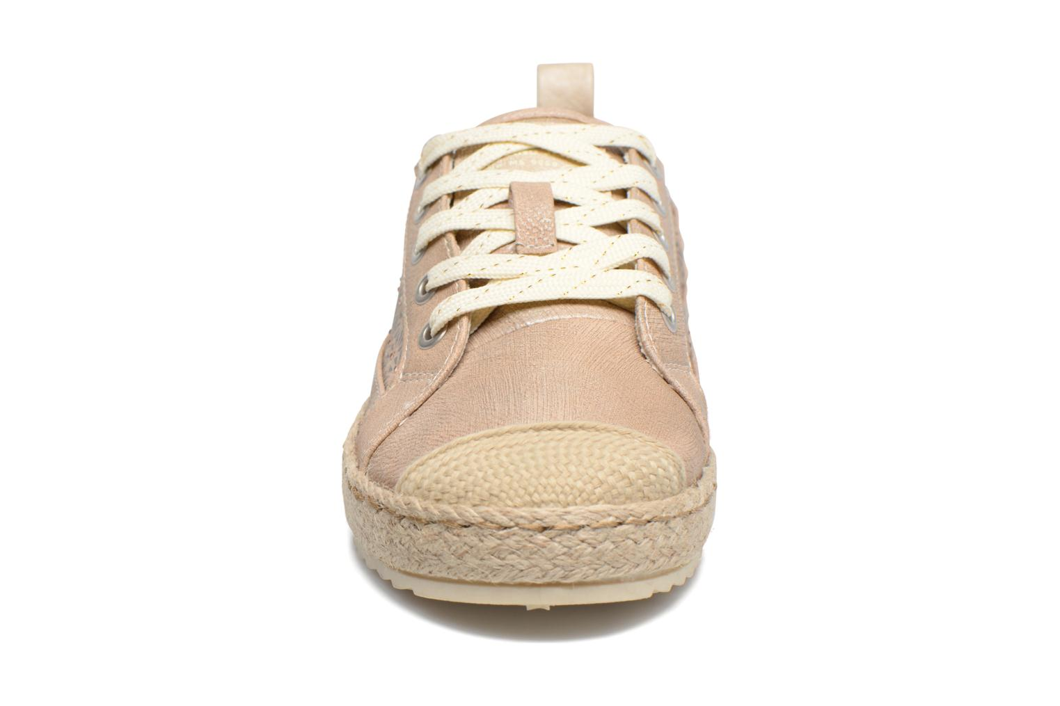 Espadrilles Mustang shoes Padrille Beige model view
