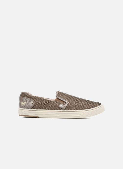 Trainers Mustang shoes Semile Silver back view