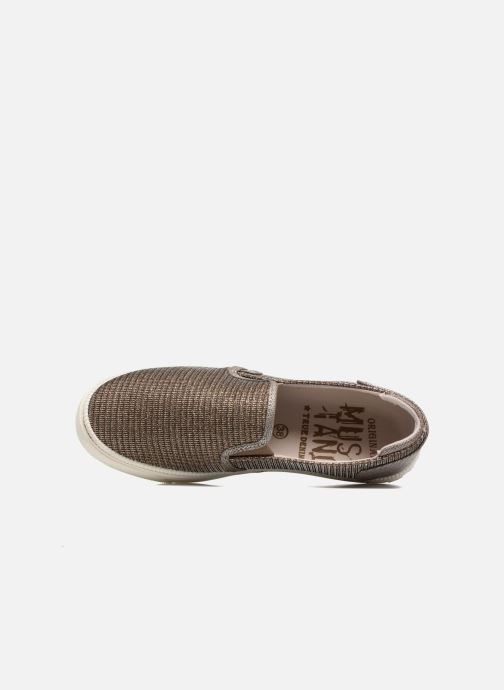 Sneaker Mustang shoes Semile silber ansicht von links