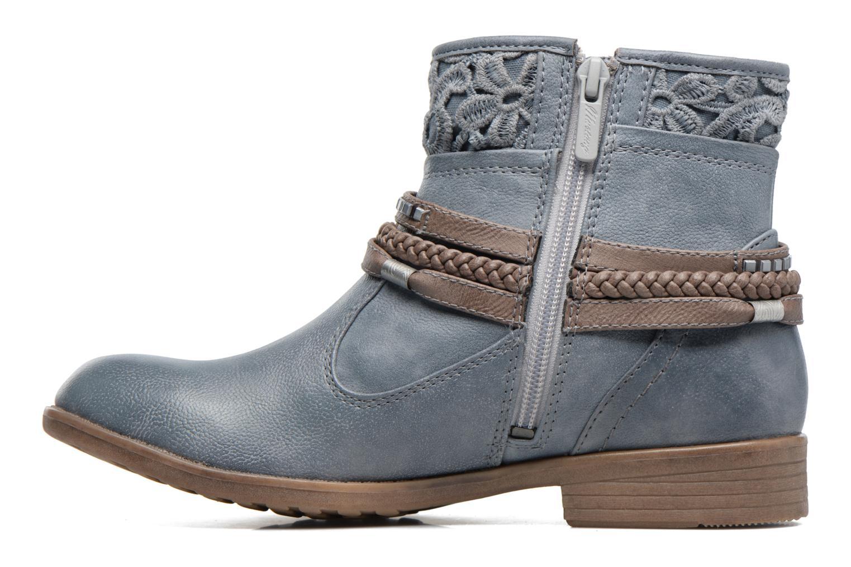 Bottines et boots Mustang shoes Moémo W Bleu vue face