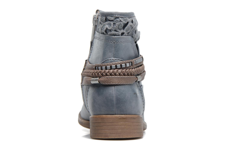 Bottines et boots Mustang shoes Moémo W Bleu vue droite