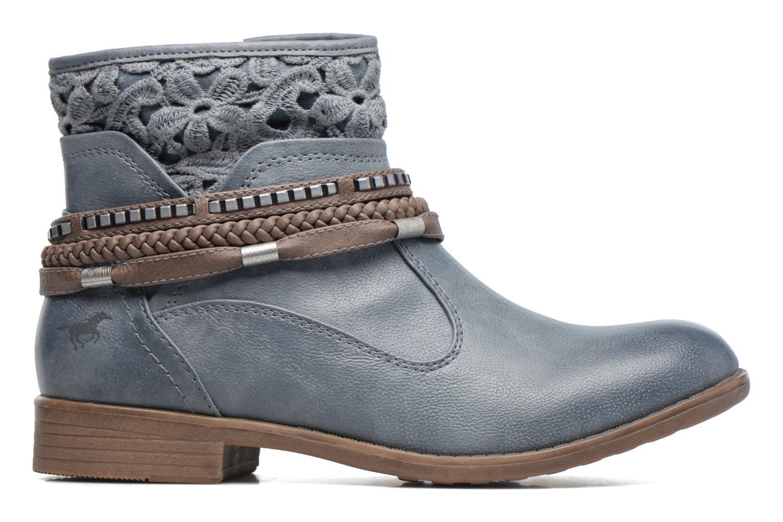 Bottines et boots Mustang shoes Moémo W Bleu vue derrière