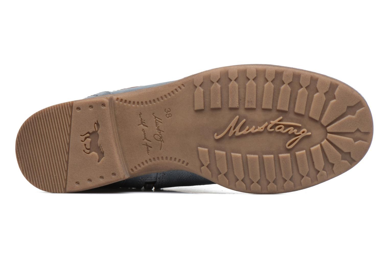Bottines et boots Mustang shoes Moémo W Bleu vue haut