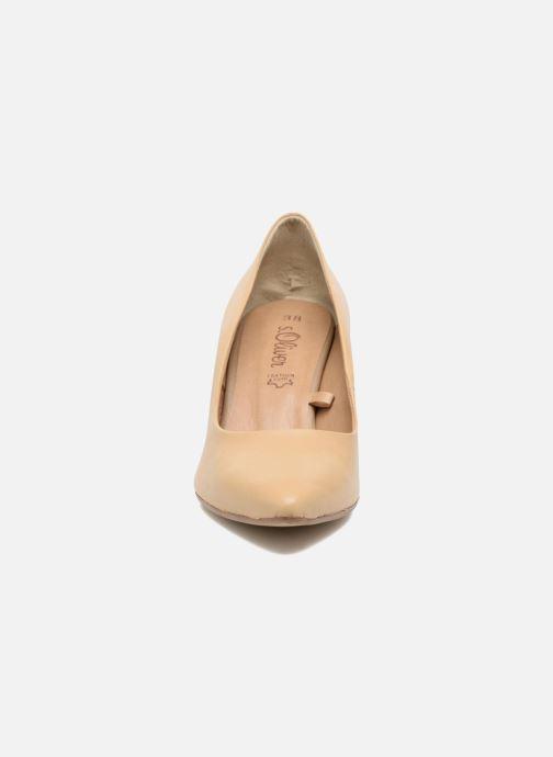 High heels S.Oliver Jacob Beige model view