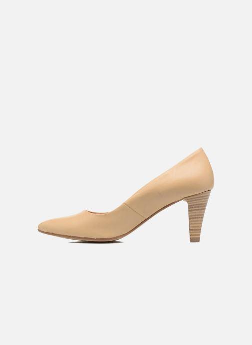 High heels S.Oliver Jacob Beige front view