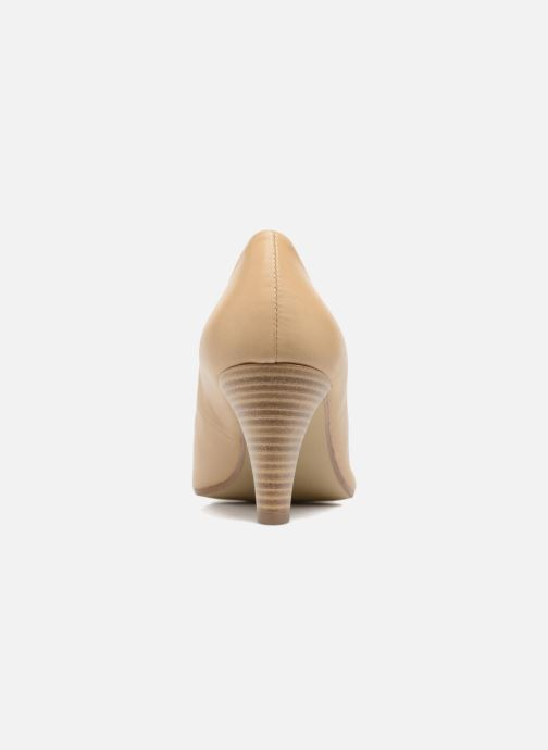 High heels S.Oliver Jacob Beige view from the right