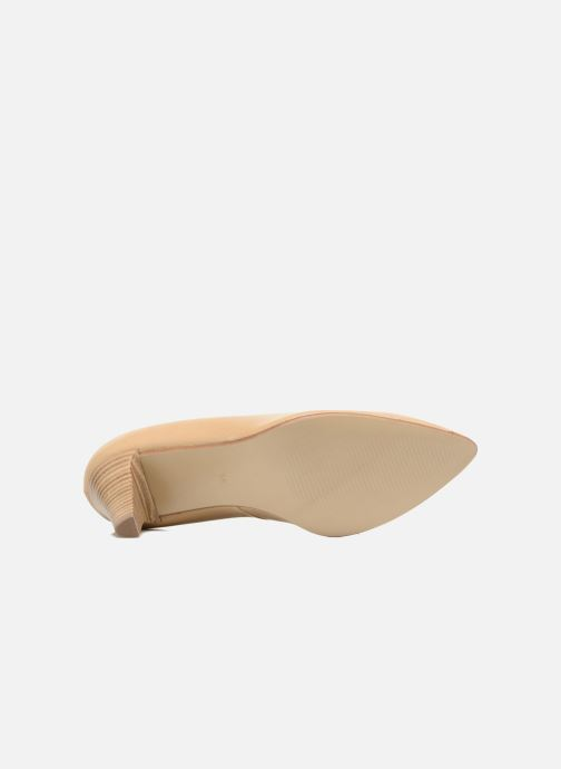High heels S.Oliver Jacob Beige view from above