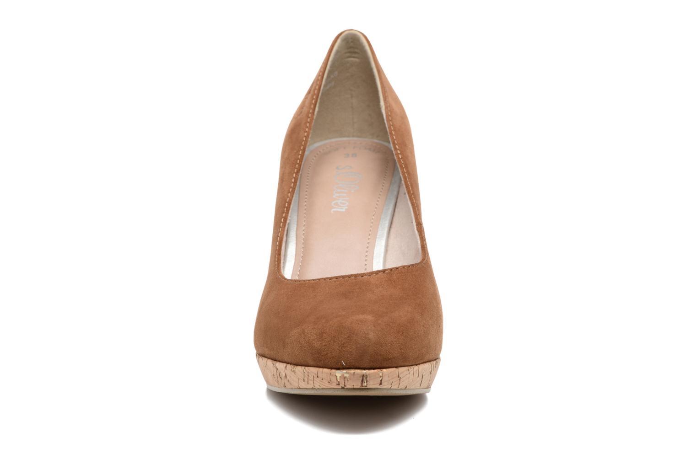 Zapatos de tacón S.Oliver Petrus Marrón vista del modelo