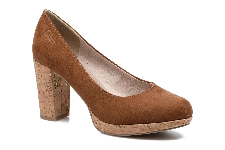 Zapatos de tacón S.Oliver Petrus Marrón vista de detalle / par