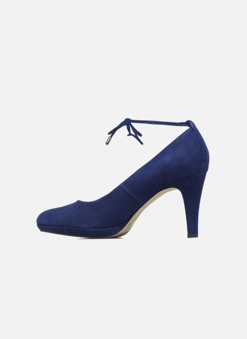 High heels S.Oliver Valentina Blue front view