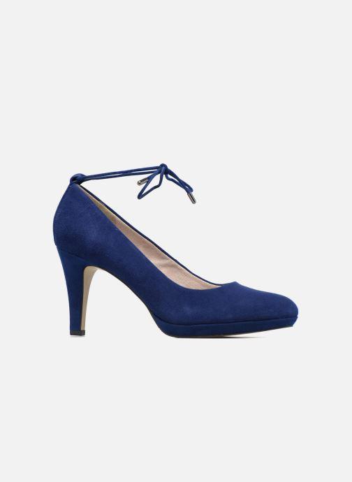 High heels S.Oliver Valentina Blue back view