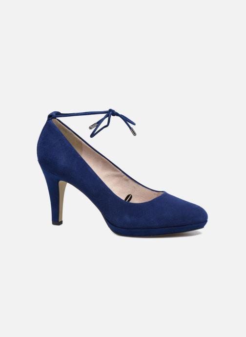 Høje hæle S.Oliver Valentina Blå detaljeret billede af skoene