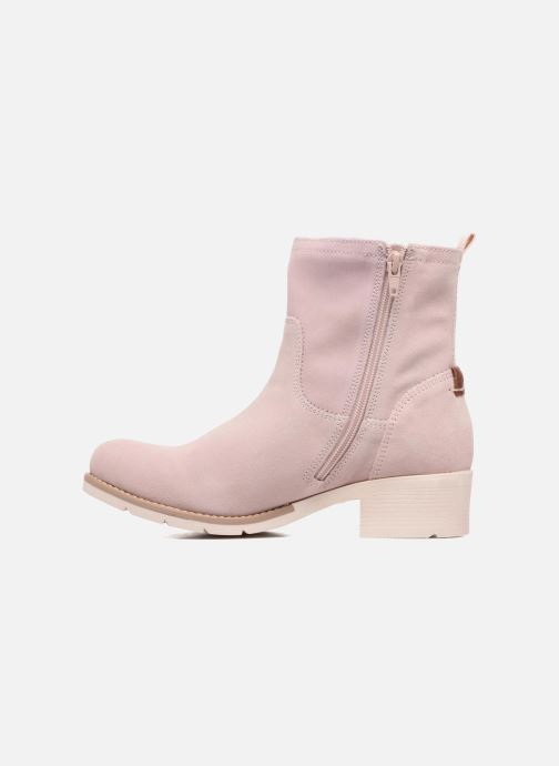 Ankle boots S.Oliver Mika Pink front view