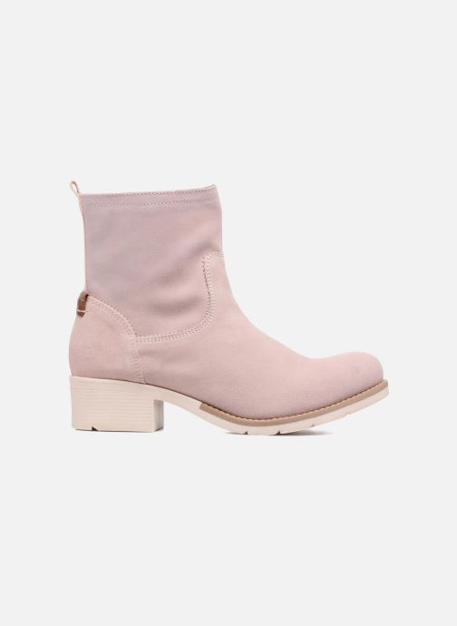 Ankle boots S.Oliver Mika Pink back view