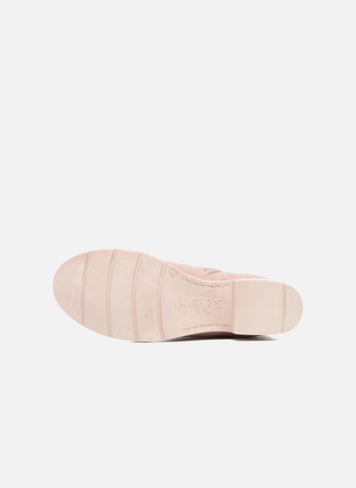 Ankle boots S.Oliver Mika Pink view from above