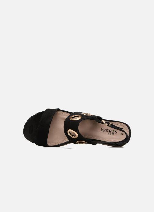 S.Oliver Rocky (schwarz) - Sandalen bei bei bei Más cómodo 15af30
