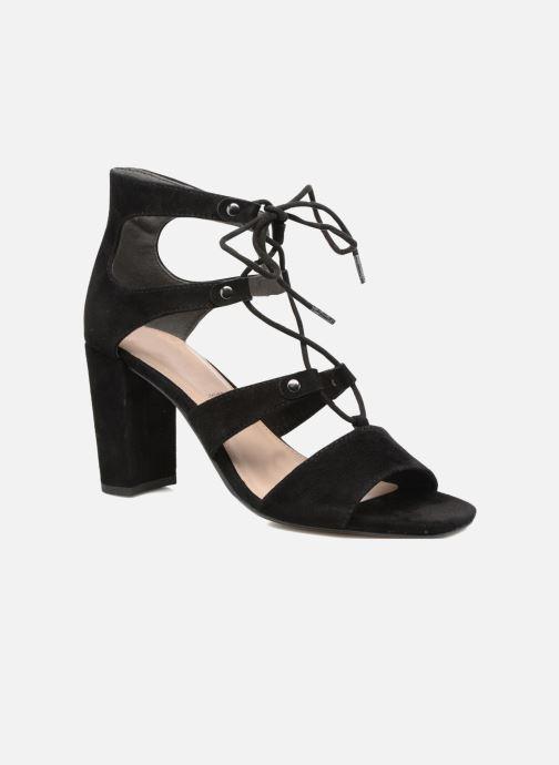 Sandaler S.Oliver Paula Sort detaljeret billede af skoene