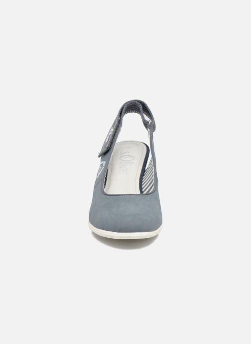 Zapatos de tacón S.Oliver julia Azul vista del modelo