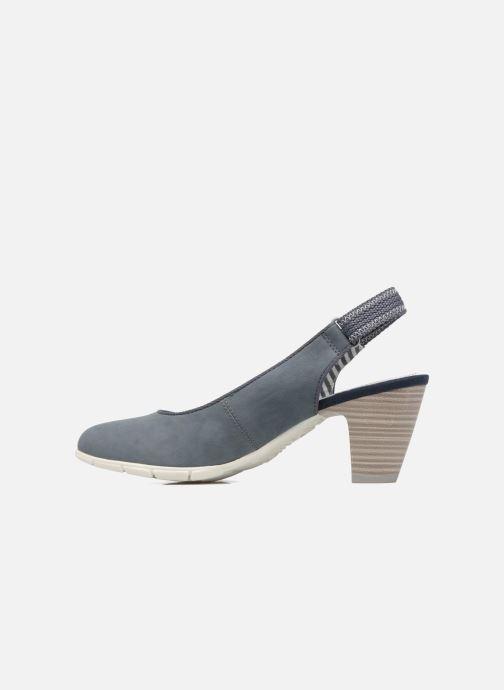 Zapatos de tacón S.Oliver julia Azul vista de frente