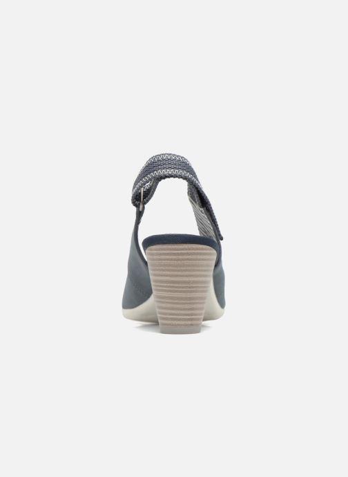 Zapatos de tacón S.Oliver julia Azul vista lateral derecha