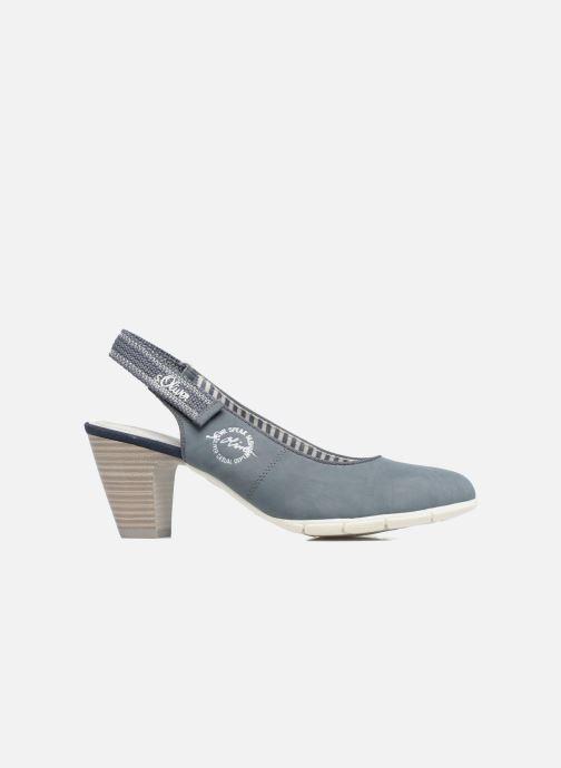 Zapatos de tacón S.Oliver julia Azul vistra trasera