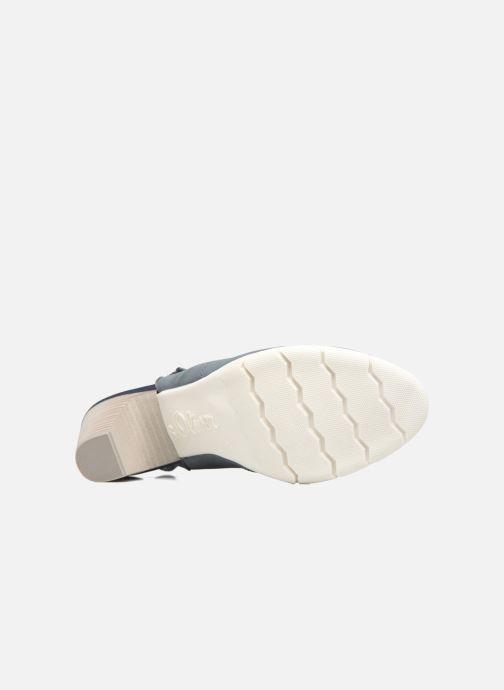 Zapatos de tacón S.Oliver julia Azul vista de arriba