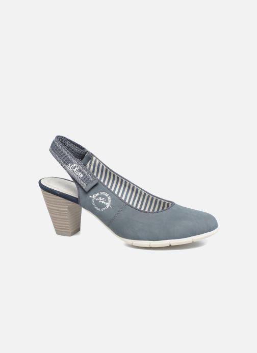Zapatos de tacón S.Oliver julia Azul vista de detalle / par