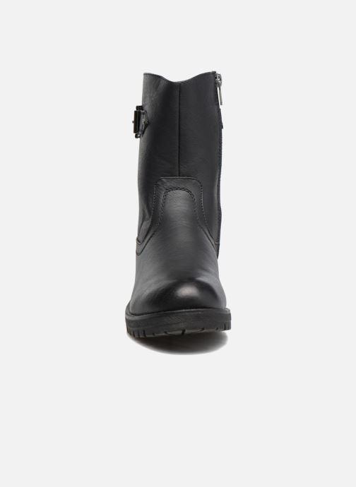 Bottines et boots Refresh Burdas Noir vue portées chaussures