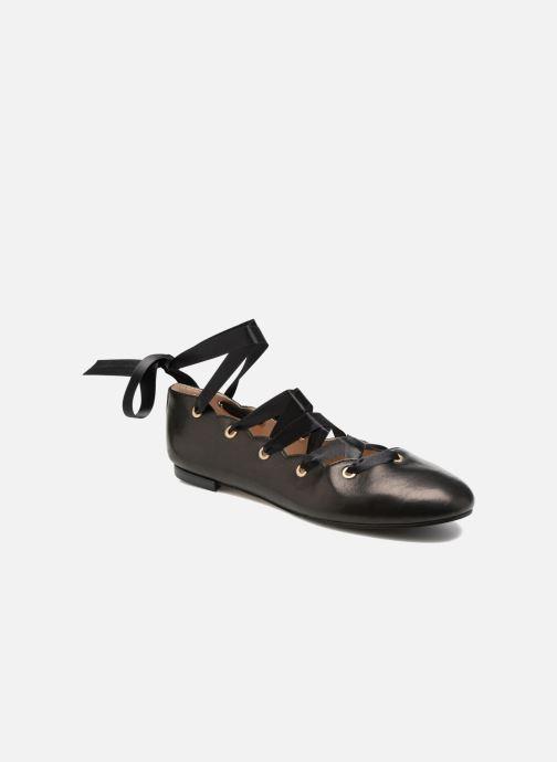 Ballerinaer Opéra national de Paris Elance Sort detaljeret billede af skoene