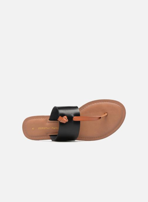 Mules & clogs Dorothy Perkins Frazer Black view from the left