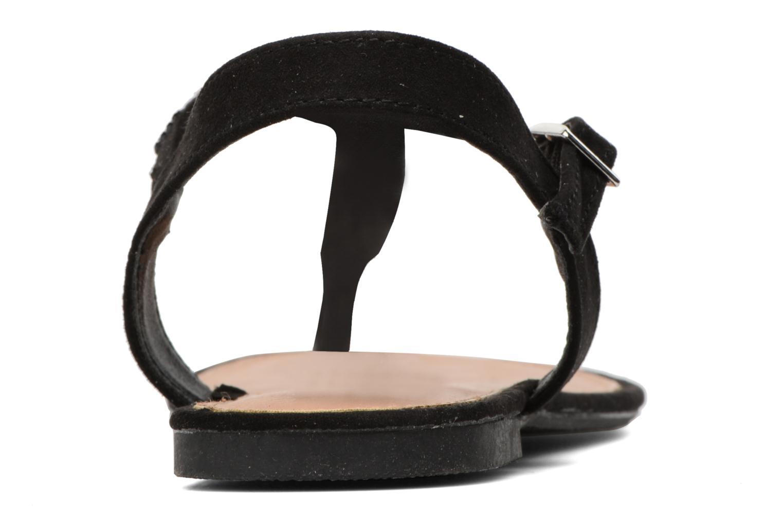 Sandales et nu-pieds Dorothy Perkins Fire Noir vue droite