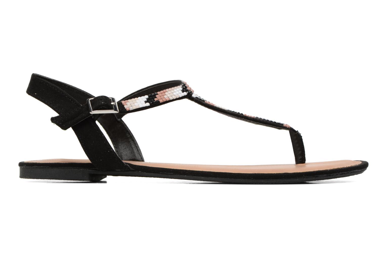 Sandales et nu-pieds Dorothy Perkins Fire Noir vue derrière