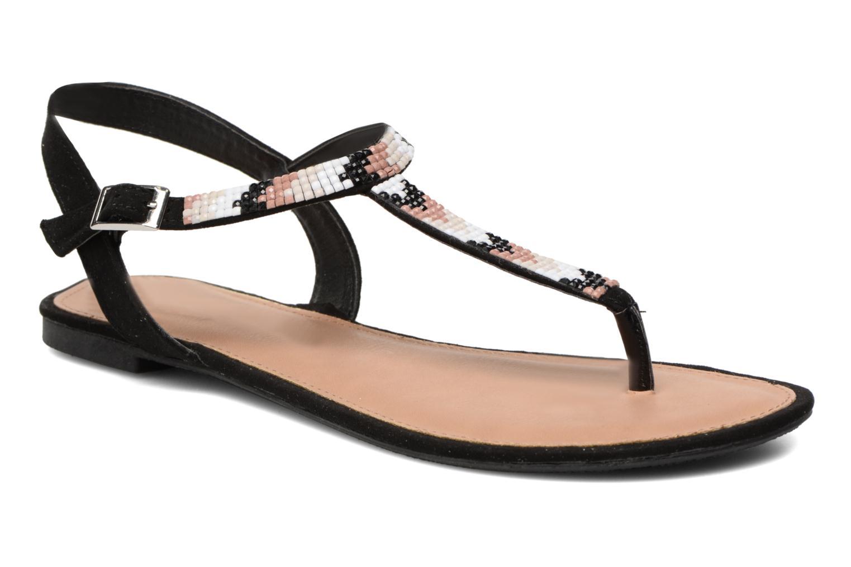 Sandales et nu-pieds Dorothy Perkins Fire Noir vue détail/paire