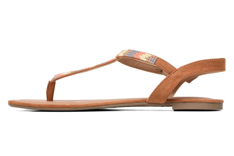 Sandales et nu-pieds Dorothy Perkins Fire Marron vue face