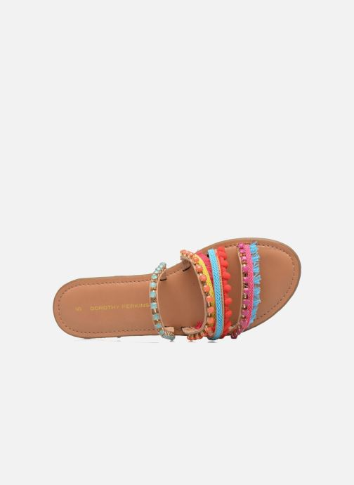 Mules & clogs Dorothy Perkins Fraya Multicolor view from the left