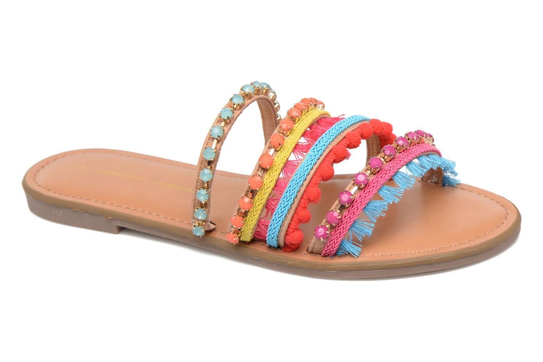 Zuecos Dorothy Perkins Fraya Multicolor vista de detalle / par