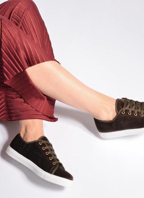 Sneakers Georgia Rose Evola Nero immagine dal basso