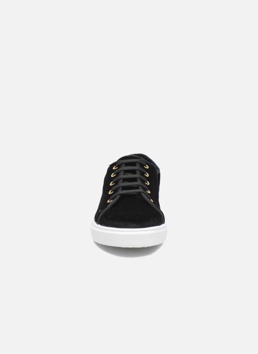 Baskets Georgia Rose Evola Noir vue portées chaussures
