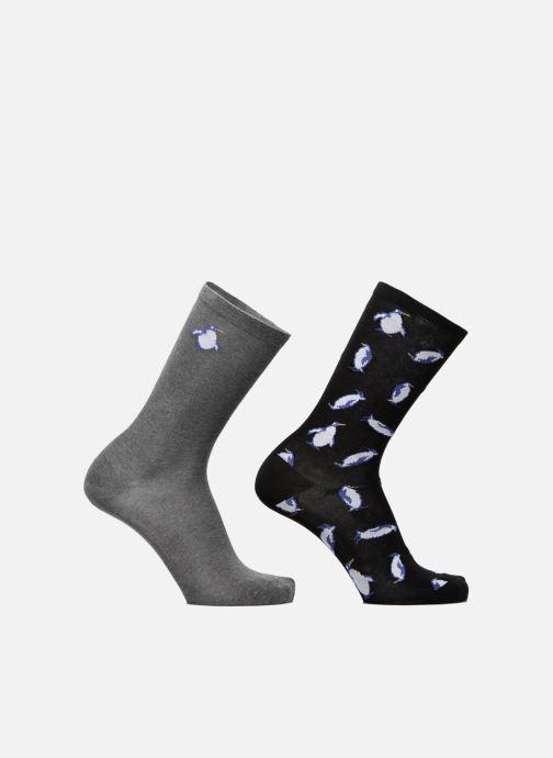 Strømper og tights Sarenza Wear Chaussettes Homme Pingouin Pack de 2 Coton Multi detaljeret billede af skoene