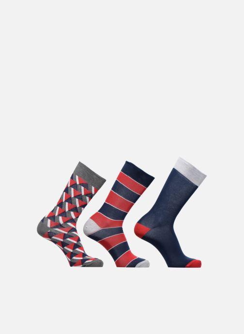 Strømper og tights Sarenza Wear Chaussettes Homme Graphique Pack de 3 Coton Multi detaljeret billede af skoene
